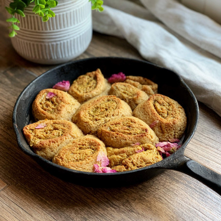 Golden Milk Cinnamon Breakfast Rolls (Keto & Gluten Free)