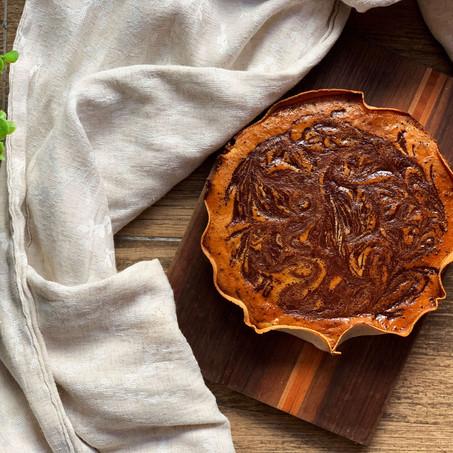 Easy Mocha Cheesecake (Paleo & Low Carb)