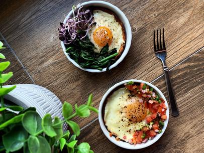 Keto Cheesy Breakfast Tarts (With Cali'Flour Flatbreads)