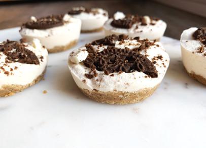 The Best Keto Cookies N' Creme Pies (Vegan, Gluten Free & Keto)