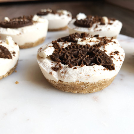 The Best Keto Cookies N' Creme Pies (Vegan, Gluten Free & Keto)