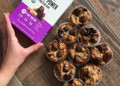 Cherry Chocolate Chunk Muffins (Vegan, Gluten Free)