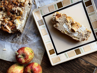 Apple Cinnamon Cream Cheese Bread (Keto & Gluten Free)