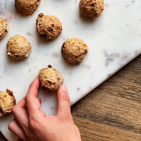 Chocolate Mint Cookie Fudge Bites (Keto & Gluten Free)