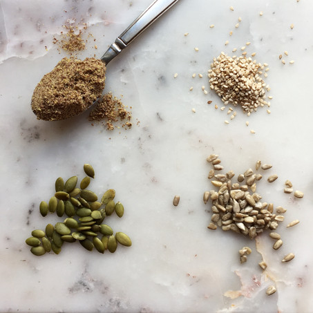 Seed Cycling (How I Got My Period Back)