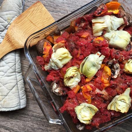 Comforting Italian Veggie Casserole (Vegan, Whole 30, Keto)