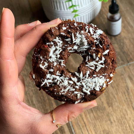Mocha Coconut Protein Donuts (Gluten Free & Low Carb)