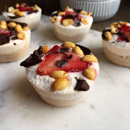 Easy Keto Sundae Pies (Dairy Free)