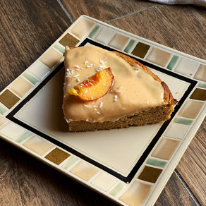 Peachy Dreamy Mango Cake (Gluten Free & Low Carb)
