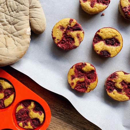 Raspberry Coconut Blender Pies (Paleo, Keto)