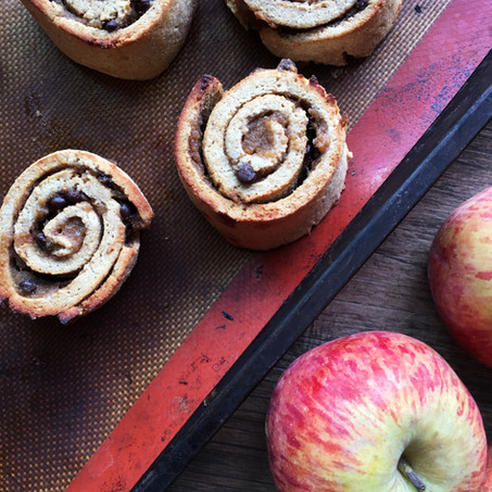 Low Carb Apple Cinnamon Rolls (Keto, Gluten and Grain Free)