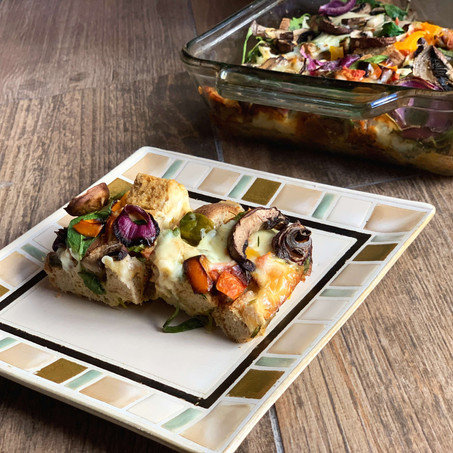 Breakfast Veggie Pizza Casserole (Low Carb & Gluten Free)