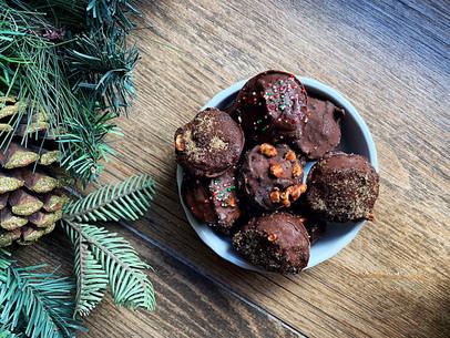 Hazelnut Brownie Truffles (Keto, Vegan & Gluten Free)