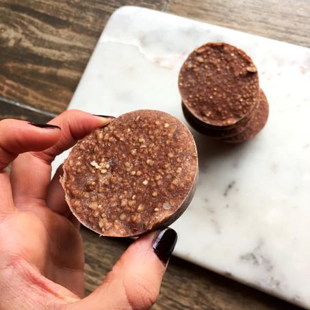 Chocolate Quinoa Krispies