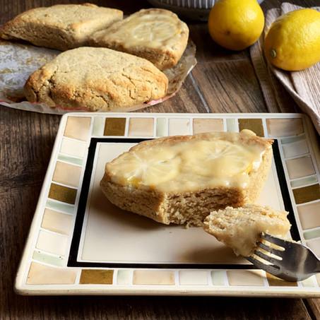 Dreamy Ricotta Lemon Scones (Keto & Gluten Free)