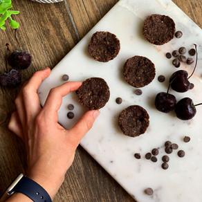 Cherry Mocha Brownie Cookies (Vegan & Gluten Free)