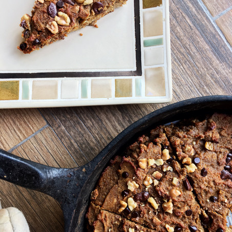 Protein Chai Cookie Skillet (Vegan, Low Carb)