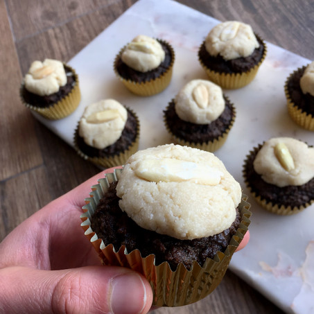 Deep Chocolate Muffins With Pili Nut Frosting (Keto & Paleo)