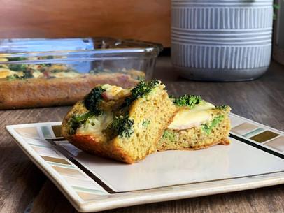 Cheesy Broccoli Focaccia (Keto & Gluten Free)