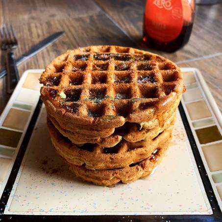 Ricotta Churro Waffles (Keto & Gluten Free)