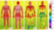 comparaison des temperatur de cryotherapie cryosauna caisson sans la tete