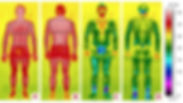 comparaison des temperatur de cryotherapie cryobox