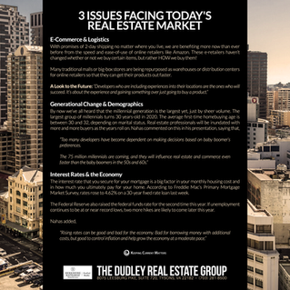 3 Issues Facing Today's Real Estate Market