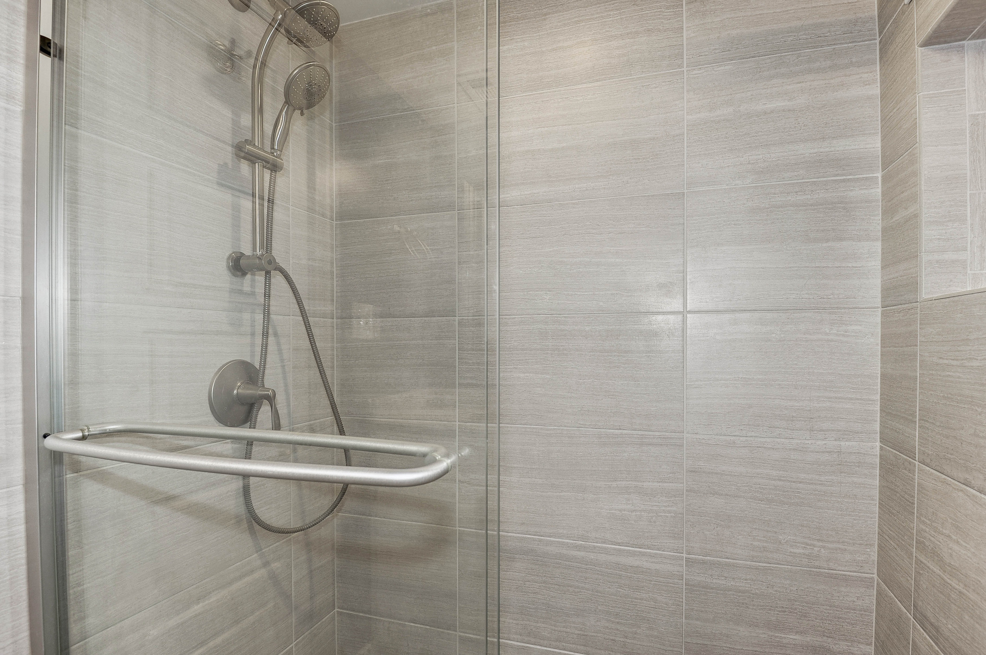 Converted Tub into SHOWER