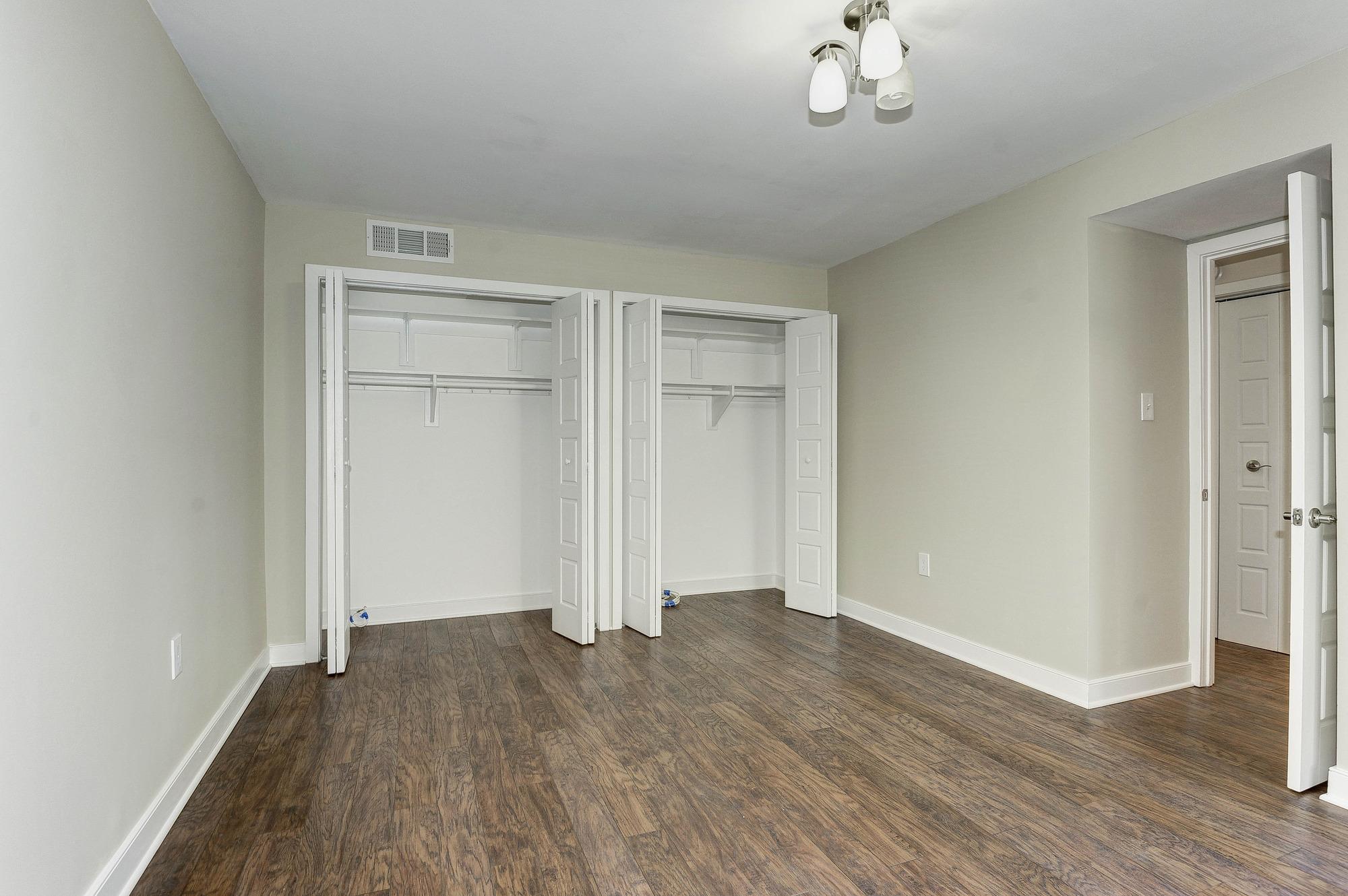 Master Bedroom - with Big Closets