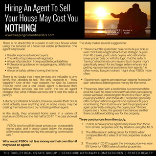 Hiring An Agent To Sell Your House May Cost You NOTHING!