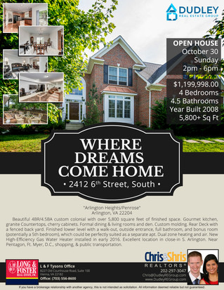 Inviting everyone to come join us for an OPEN HOUSE this Sunday!