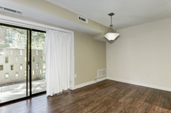 Dining Room - with Wood Floors