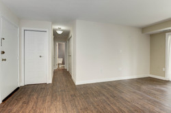 Hallway with WoodFloors