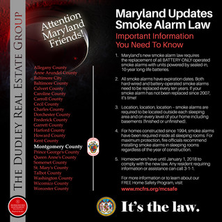Maryland's New Smoke Alarm Law