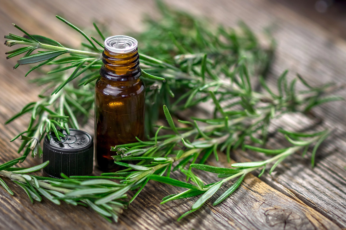 Essential Oils rosemary and rse