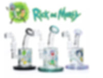 rick and morty glass water pipe.jpg