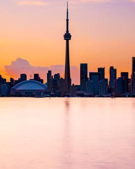 Island Skyline Sunset