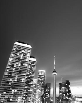 Toronto Sunset Day to Night
