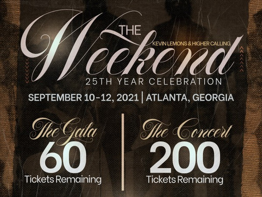 EVENT: Kevin Lemons & Higher Calling's 25th Anniversary Gala & Concert