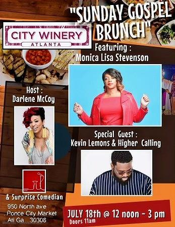 Sunday Brunch Gospel at City Winery Atlanta