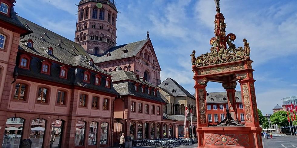 """MAINZ - MÜNCHEN - KASSEL - Veranstaltung - 2021 lautet das Thema """"Kann """"ich"""" ohne """"wir"""" -Individualität vs. Solidarität"""""""