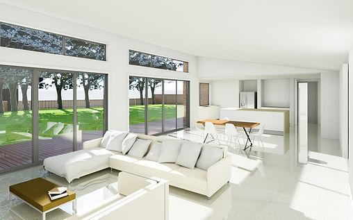 Interior 3D Renering - Torquay