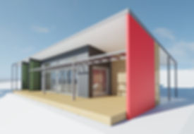 Exterior 3D Renering - Waurn Ponds