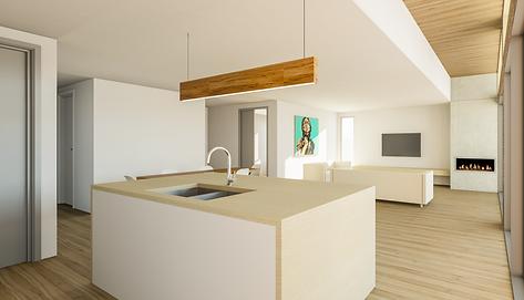 Interior 3D Renering - Newtown