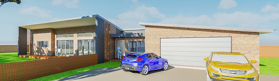 Exterior 3D Renering - Torquay