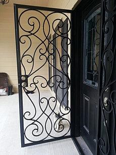 Burglar Bar Door BBD054b & Security Doors Burglar Bars Pezcame.Com