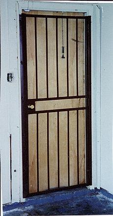 Burglar Bar Door 005 & Security Doors Burglar Bars Pezcame.Com