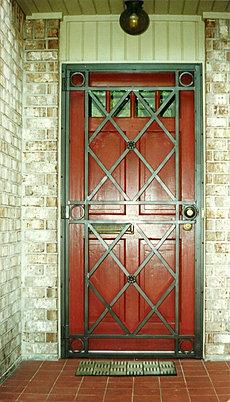 Burglar Bar Door 001 & Security Doors Burglar Bars Pezcame.Com