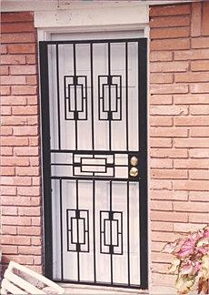 Burglar Bar Door 003 & Security Doors Burglar Bars Pezcame.Com