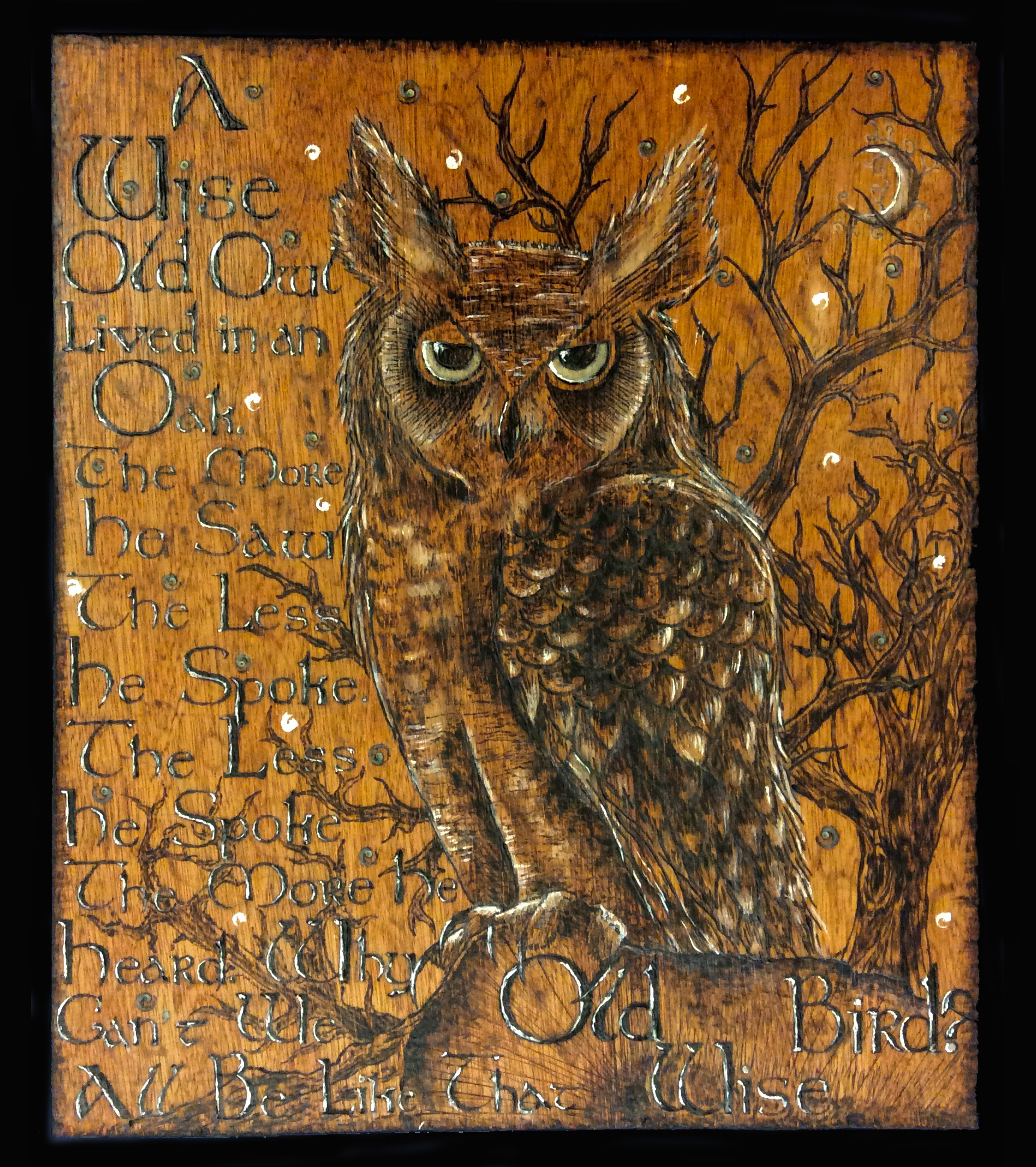 Old Wise Owl